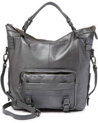 Treesje - Ventura Leather Satchel - Lyst