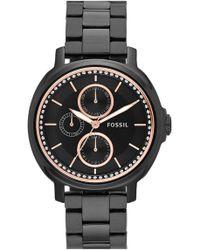 Fossil - Women's Chelsey Multifunction Bracelet Watch - Lyst