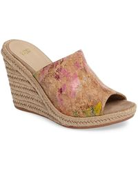 Johnston & Murphy - Myrah Wedge Slide Sandal - Lyst