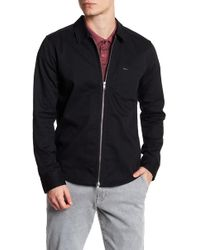 RVCA - Hex Double Zip Slim Fit Shirt - Lyst