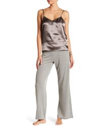 Maidenform - Satin Cami & Pants Pajama Set - Lyst