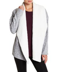 Gaiam - Sia Faux Fur Lined Wrap - Lyst