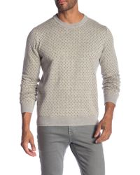 Ben Sherman - Tipping Geo Crew Sweater - Lyst