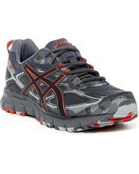 03dfda8695a3 Lyst - Asics Gel-scram 3 Women Us 6 Black Running Shoe in Black for Men