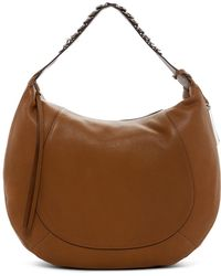 Vince Camuto - Cayle Leather Hobo Bag - Lyst