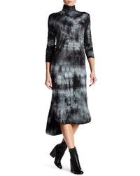 Spenglish - Tie Dye Turtleneck Hi-lo Dress - Lyst