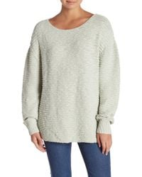 Free People - Menace Solid Tunic Sweater - Lyst