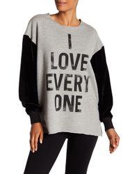 Cinq À Sept - I Love Everyone Sweatshirt - Lyst