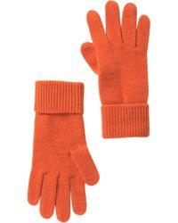 Portolano - Cashmere Ribbed Gloves - Lyst
