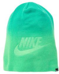 Lyst - John Varvatos Ombre Random Feed Knit Hat in Black for Men b54a9d40151b