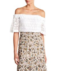 A.L.C. - Cheyenne Off-the-shoulder Top - Lyst