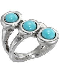 Uno De 50 - Super-ego Bezel Set Murano Crystal Ring - Lyst