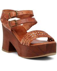Bed Stu - Kenya Platform Sandal - Lyst