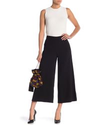 Cupcakes And Cashmere - Gisele Wide Leg Pants - Lyst