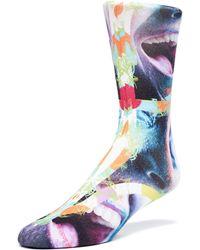 Maceoo - Socks - Face 2 - Lyst