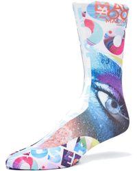 Maceoo - Socks - Eyes 2 - Lyst
