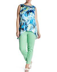 Lauren by Ralph Lauren - Stretch Crop Skinny Jean (plus Size) - Lyst