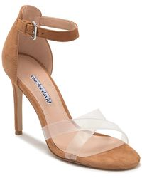 37e94ed27df Geox Celestial Patent Leather Pump in Brown - Lyst