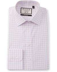 Thomas Pink - Slim Fit Goodall Check Dress Shirt - Lyst