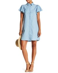 Sugarlips - Helena Collard Denim Dress - Lyst