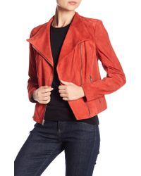 Andrew Marc - Laney Asymmetrical Front Zip Jacket - Lyst