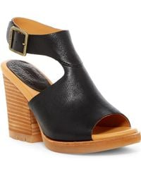 c03d42ac57f1 Lyst - Kork-Ease Keirn Platform Wedge Sandal in Black