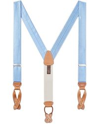 Trafalgar - Neat Silk Suspenders - Lyst