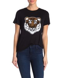 Romeo and Juliet Couture - Tiger Short Sleeve Shirt - Lyst