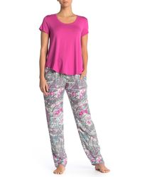 Josie Floral Drawstring Sleep Pants - Multicolour