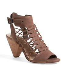 Vince Camuto - 'evel' Leather Sandal - Lyst