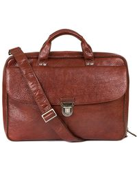 Boconi - Mathews Leather Commuter Bag - Lyst
