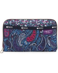 LeSportsac - Everyday Printed Nylon Wallet - Lyst