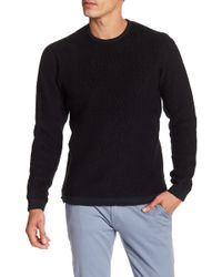 Reigning Champ - Faux Shearling Crew Neck Sweater - Lyst