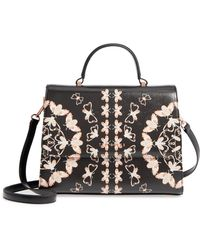 Ted Baker - Buzzy Queen Bee Faux Leather Satchel - Lyst