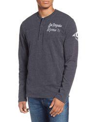 47 Brand - Los Angeles Rams Henley - Lyst