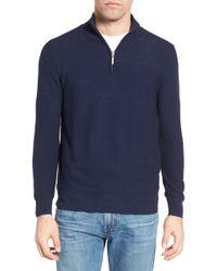 Jeremy Argyle Nyc - Quarter Zip Sweater - Lyst