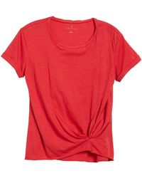 Caslon - Knotted Tee - Lyst