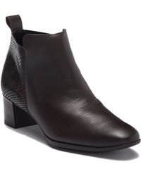 Munro - Alix Leather Bootie - Multiple Widths Available - Lyst