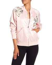 Catherine Malandrino - Members Only Floral Detail Jacket - Lyst