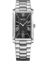 BOSS - Men's Admiral Bracelet Watch - Lyst