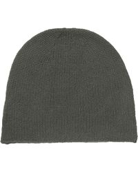 Skull Cashmere - Solid Ribbed Cashmere Beanie - Lyst