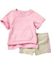 Joe's Jeans - Pullover & Shorts Set (baby Girls) - Lyst