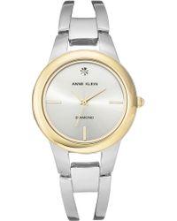 Anne Klein - Women's Diamond Bracelet Watch, 32.6mm - Lyst