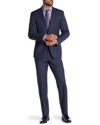 Vince Camuto - Plaid Print Slim Fit 2-piece Suit - Lyst