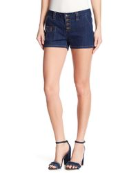 Miss Me - Button Fly Shorts - Lyst
