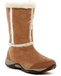 Easy Spirit - Elk Faux Fur Boot - Wide Width Available - Lyst