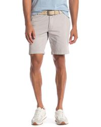Tailor Vintage - Greenwich Slim Fit Stretch Jersey Walking Shorts - Lyst