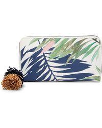 Deux Lux - Antigua Zip Wallet - Lyst