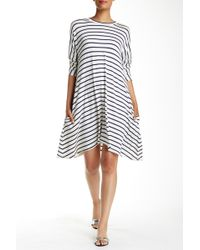 Amour Vert - Perry Long Sleeve Tent Dress - Lyst