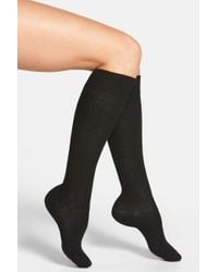 Nordstrom - Luxury Knee-high Socks - Lyst